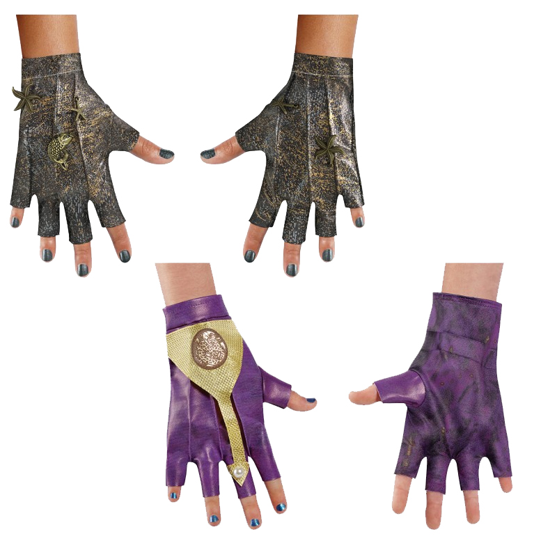 Choose Descendants 2 Fingerless Gloves Mal Uma