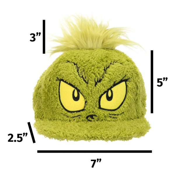 The Grinch Adjustable Green Fuzzy Cap