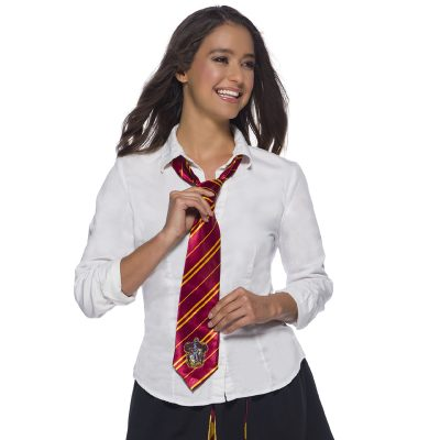Harry Potter Gryffindor Long Fabric Tie