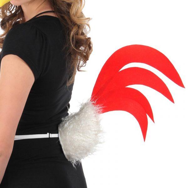 Costume Plush Perky Chicken Tail