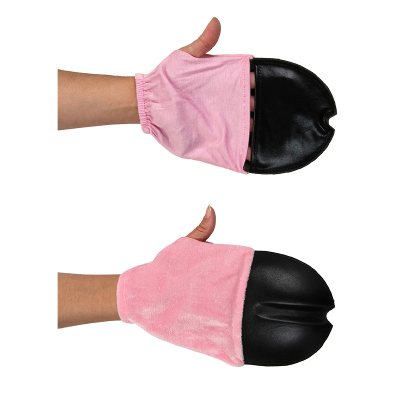 Costume Plush Pig Feet Front Back – Front