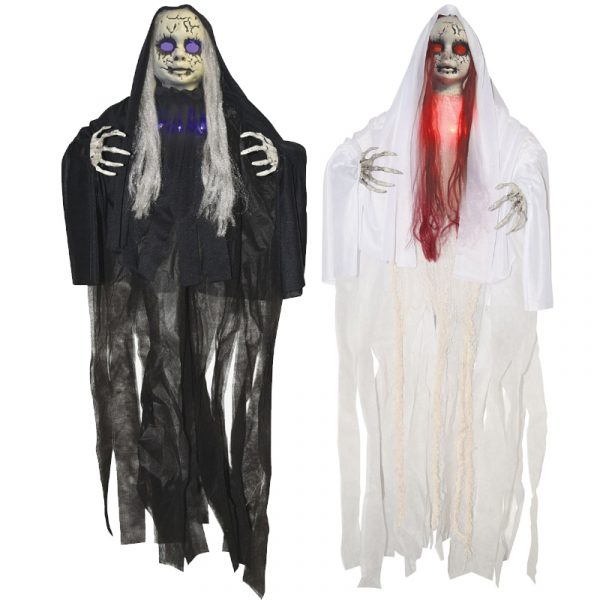 42 Inch Light-up-Hanging Haunted Doll