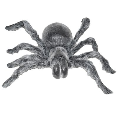 18 Inch Latex Spider w Bendable Furry Legs