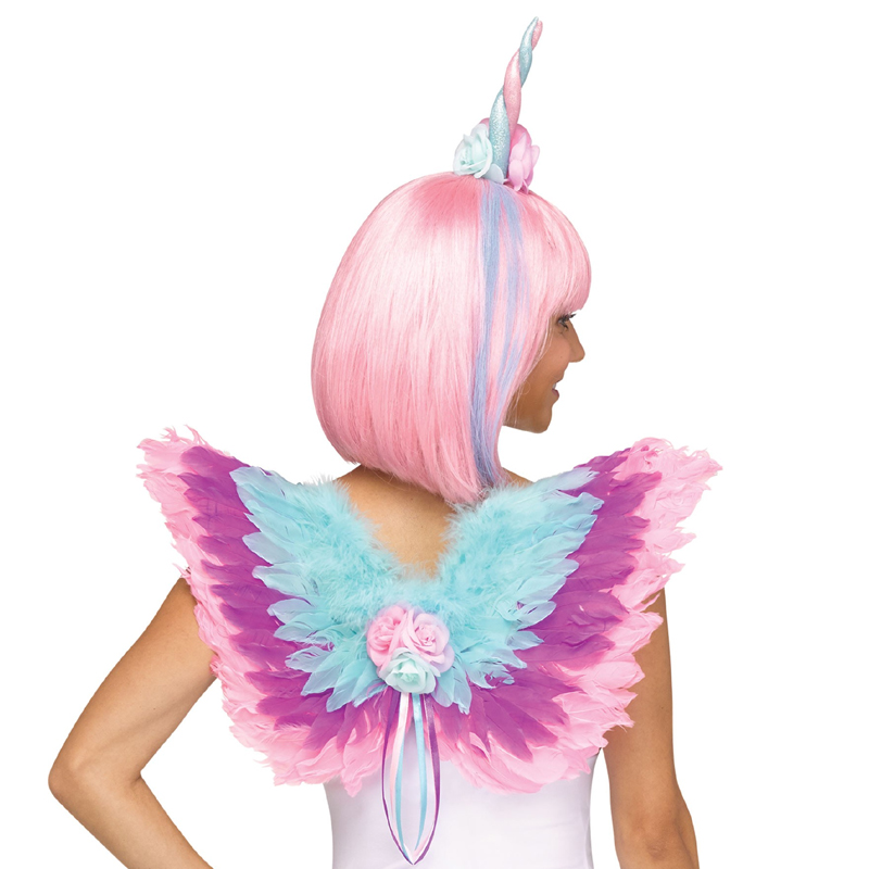 Costume Magical Unicorn Wings Headpiece Kit