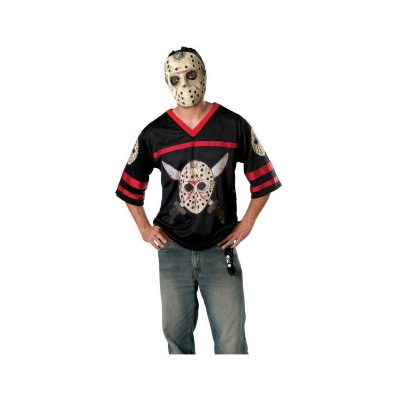 Jason Voorhees Hockey Jersey Adult Costume