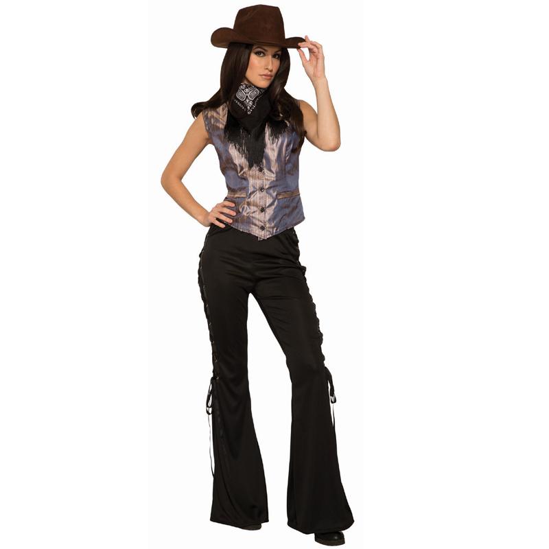 Night Ranger Cowgirl Western Women Costume