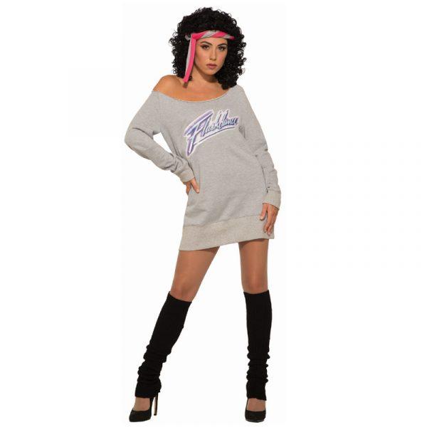 Flash Dance Sweatshirt Leg Warmers Headband