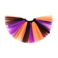 Orange Black Purple Adult Tutu