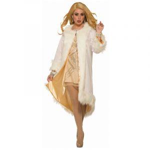 Vintage Hollywood Faux Fur Coat