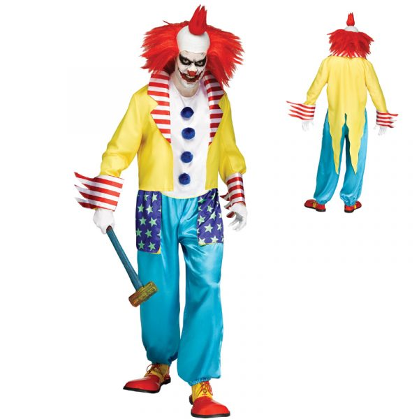 Wicked Clown Master Adult Costume