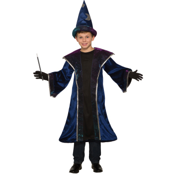 Celestial Sorcerer Child Wizard Costume