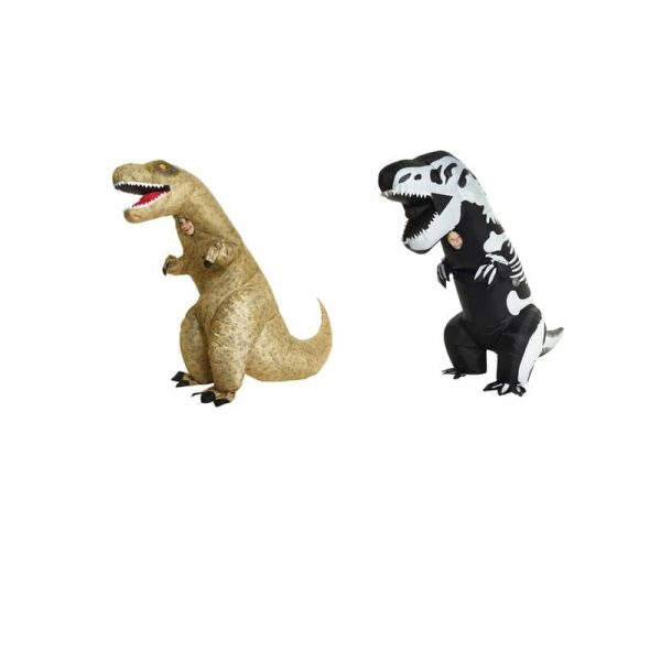 Inflatable Skeleton Rex or T Rex Child Size Costume