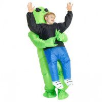 Kids Inflatable Alien Pick-Me-Up Halloween Costume