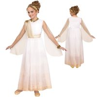 Golden Goddess Greek Dress Headband Child Costume