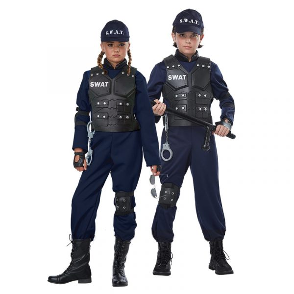 Junior Swat Team Member Child Costume