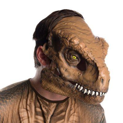 Tyrannosaurus Rex Moveable Jaw Plastic Mask