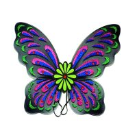 22 Inch Costume Nylon Wings w Glitter n Jewels