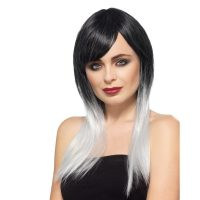 Ombre Wig Black Gray - Deluxe Styleable