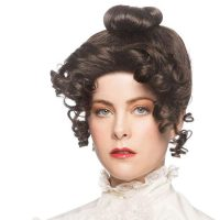 Gibson Gal Brown Wig Up Do