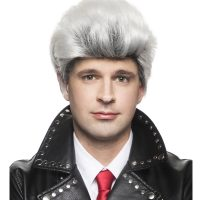 Descendants Carl-De Wig White Black Pompadour