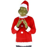 Dr. Seuss Grinch Santa Adult Costume