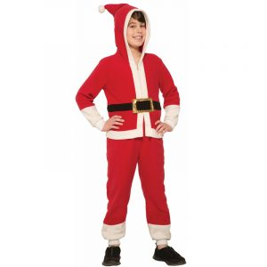 Santa Onesie Child-Youth Christmas Costume