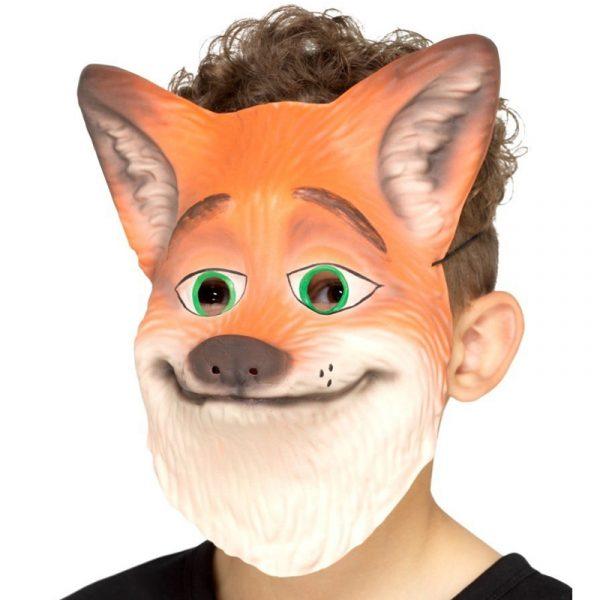 Foam Fox Face Mask Child Size