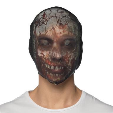 Costume Nylon Zombie Hoodie Mask