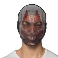 Costume Fabric Clown Hoodie Mask
