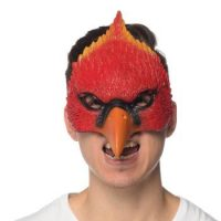 Costume Deluxe Soft Cardinal Bird Mask