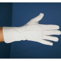 Deluxe Professional Extra Long White Parade Gloves