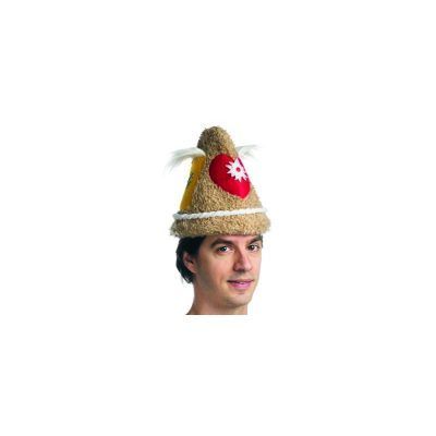 Fuzzy Fabric Authentic Oktoberfest Beer Hat