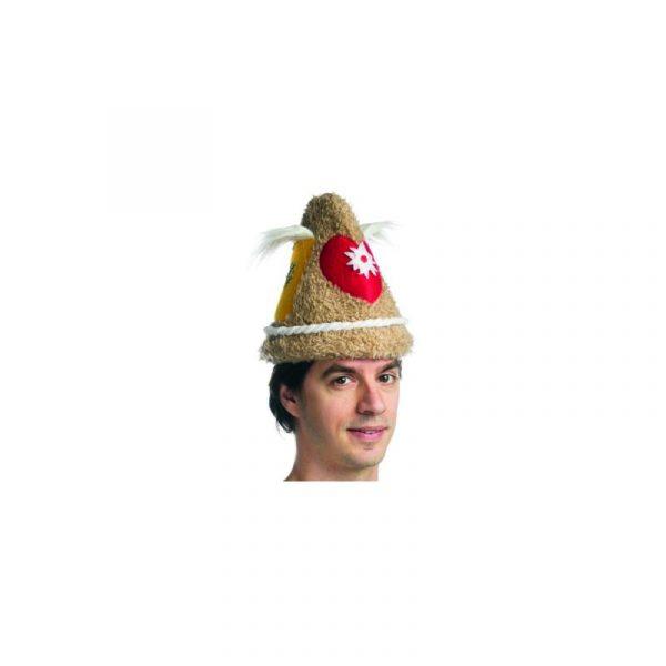 Fuzzy Fabric Authentic Oktoberfest Beer Hat