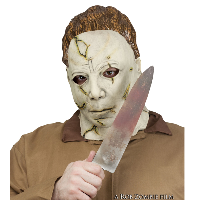 Halloween 2018 Michael Myers Knife.Costume Michael Myers Mask N Knife Set