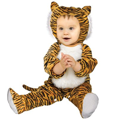 Cuddly Tiger Infant Toddler Halloween Costume