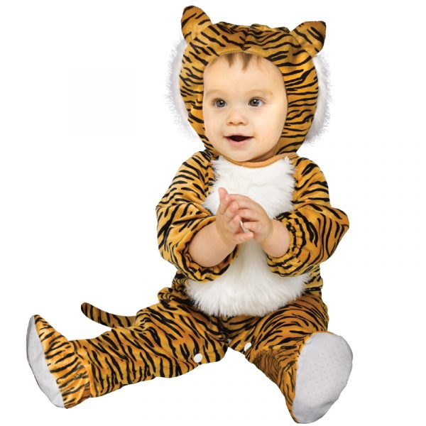 Cuddly Tiger Infant Toddler Halloween Costume