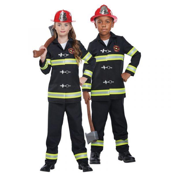 Fire Chief Junior Unisex Child's Halloween Costume