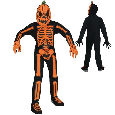 SKele-Jack Scary Child Halloween Costume