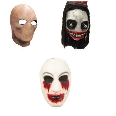 CreepyPasta Latex Masks Zalgo Slenderman J the Killer