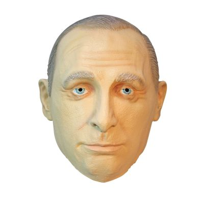 Vladimir Putin full head latex mask