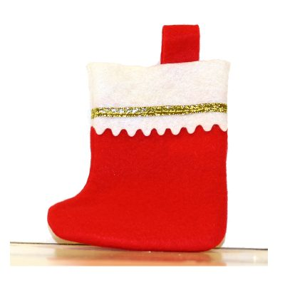 6 Inch Soft Felt Holiday Stocking