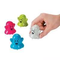 2 Inch Plastic Pull-back Racing Ghosts