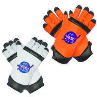 Astronaut Gloves White/Black, Orange/Black