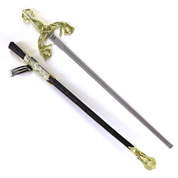 28 Inch Costume Plastic King Knight Sword