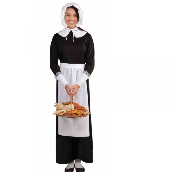 Costume Adult Fabric Instant Pilgrim Set