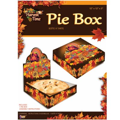 Pie Box - Harvest Time Printed Pop-up Cardboard