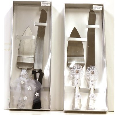 Wedding Cake Knife n Server Set