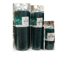Dark Green Pillar Candles - Patrician