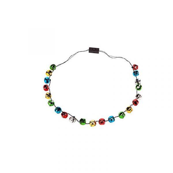 Light-up Jingle Bell Necklace Lotsa Lites