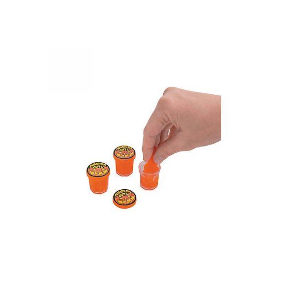 Novelty Pumpkin Guts Slime Orange